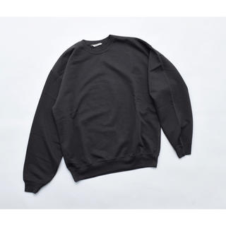 COMOLI - AURALEE オーラリー SUPER SOFT SWEAT BIG P/O