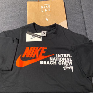 NIKE - S NIKE stussy 新品未使用 国内正規 ブラック 黒 Tシャツ