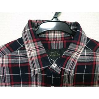 スピックアンドスパンノーブル(Spick and Span Noble)のスピック&スパンチェックシャツ(シャツ/ブラウス(長袖/七分))