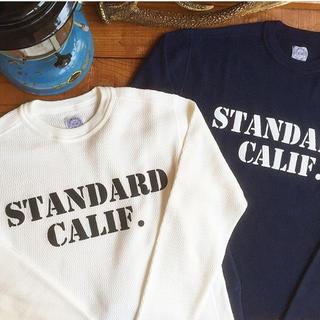 STANDARD CALIFORNIA - ストア限定!SD Thermal Long Sleeve Crew Neck