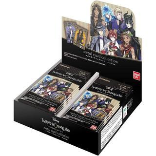 ディズニー(Disney)のディズニー ツイステッドワンダーランド メタルカードコレクション パックVer.(Box/デッキ/パック)