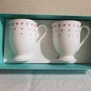 ティファニー(Tiffany & Co.)の【新品】ティファニー Tiffany ハートマグカップ(グラス/カップ)