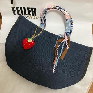 フェイラー(FEILER)の★お盆sale★フェイラー 新品トートバッグ ストロベリーチャームセット(トートバッグ)