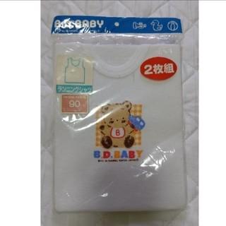 サンリオ(サンリオ)の【新品】B.D.BABY ランニングシャツ 2枚組 90㎝(下着)