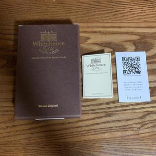 ホワイトハウスコックス(WHITEHOUSE COX)のホワイトハウスコックス S1957 ZIP WALLET 箱のみ(折り財布)