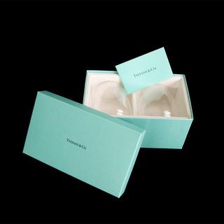 ティファニー(Tiffany & Co.)のTIFFANY&CO ペアグラス(未使用・新品)(グラス/カップ)