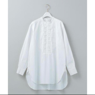 BEAUTY&YOUTH UNITED ARROWS - roku 6 完売pin tuck shirt