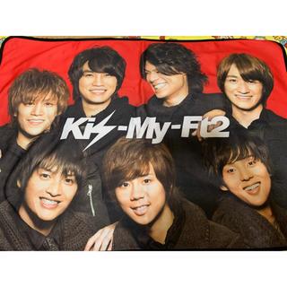 キスマイフットツー(Kis-My-Ft2)のキスマイ ブランケット 2枚セット(アイドルグッズ)