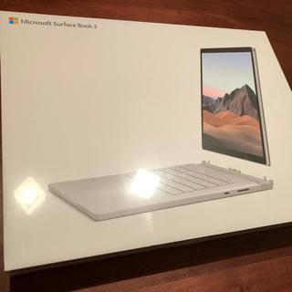 マイクロソフト(Microsoft)のMicrosoft Surface Book3(ノートPC)