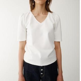 マウジー(moussy)の■Ⅰマウジー 未使用タグ付き  HALE SLEEVE V/N Tシャツ(Tシャツ(半袖/袖なし))