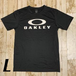 オークリー(Oakley)の新品 オークリー メンズロゴTシャツL ブラックアウト(Tシャツ/カットソー(半袖/袖なし))