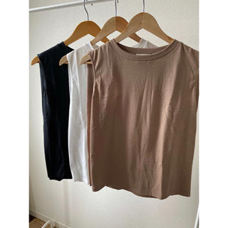 TODAYFUL - 新品 タグ付 ノースリーブ トップス タンクトップ Tシャツ
