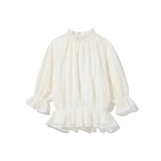 GRL - GRL キャミソール付きレーストップス ホワイト 白 新作 韓国ファッション
