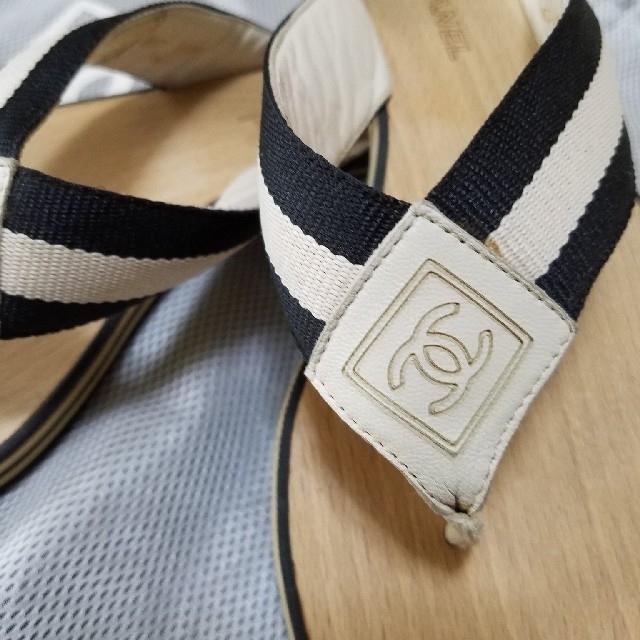 CHANEL(シャネル)の[今季最終価格]★シャネル スポーツラインサンダル★ レディースの靴/シューズ(サンダル)の商品写真