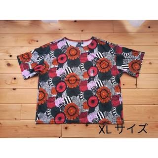 マリメッコ(marimekko)のXLサイズ マリメッコ  marimekko チュニック  ユニクロ 半袖(Tシャツ(半袖/袖なし))