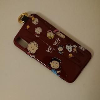 スヌーピー(SNOOPY)のスヌーピー☆iphoneXスマホケース(iPhoneケース)