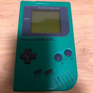 ゲームボーイ - 初代ゲームボーイ 緑