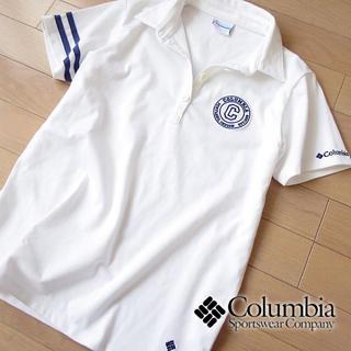 Columbia - 美品 M コロンビア レディース 半袖ポロシャツ ホワイト