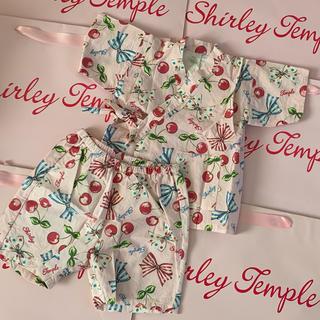 Shirley Temple - シャーリーテンプル🎀甚平 100