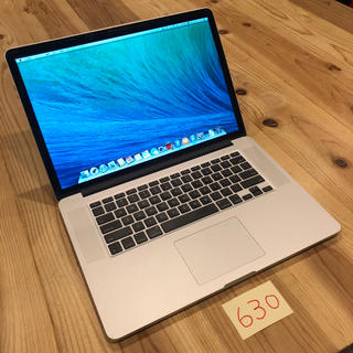 マック(Mac (Apple))のSSD1TB!MacBook pro 15インチ Late2013(ノートPC)
