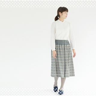 ミナペルホネン(mina perhonen)の専用   ミナペルホネン  tarte スカート38 (ひざ丈スカート)