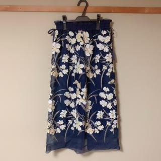 リリーブラウン(Lily Brown)のチュールスカート(ひざ丈スカート)