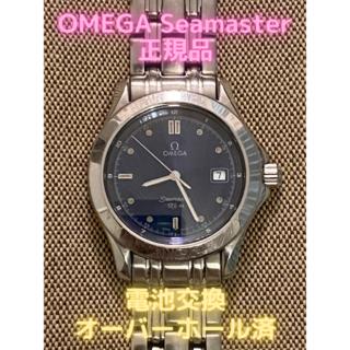 オメガ(OMEGA)の【オーバーホール済み】オメガ シーマスター 120m 正規品:アンティーク希少品(腕時計(アナログ))