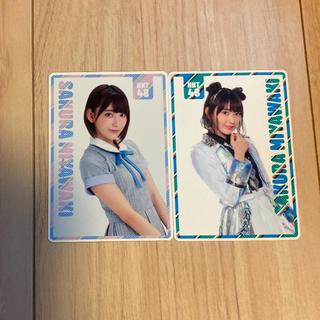 エイチケーティーフォーティーエイト(HKT48)の宮脇咲良 スクールカレンダー 2枚セット(アイドルグッズ)