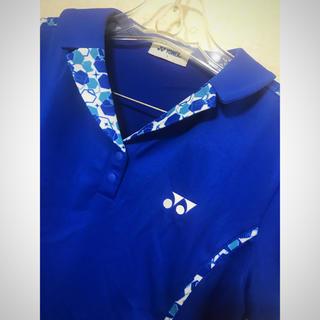 ヨネックス(YONEX)の【極美品】ヨネックス YONEX レディース 半袖ポロシャツ L(ウエア)