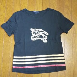 BURBERRY - バーバリー ロンドン Tシャツ 1 M 黒 レディース