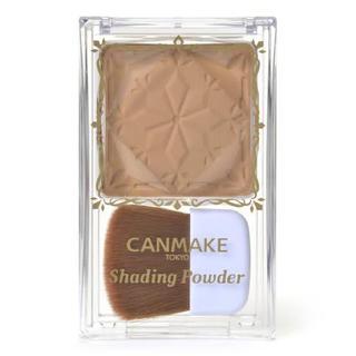 キャンメイク(CANMAKE)のCANMAKE シェーディングパウダー 01 デニッシュブラウン(フェイスカラー)