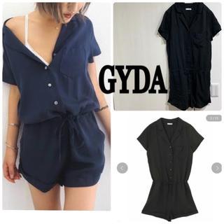 GYDA - GYDA 美品 シャツ コンビネゾン オールインワン ロンパース ショーパン