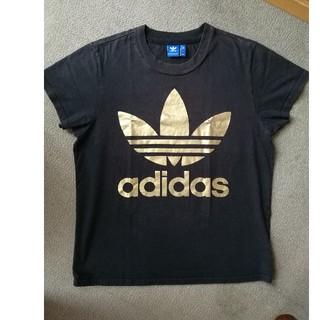 アディダス(adidas)のadidas トレフォイル ゴールド Tシャツ(Tシャツ/カットソー(半袖/袖なし))