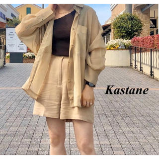 Kastane - 新品 Kastane リネンショートパンツ