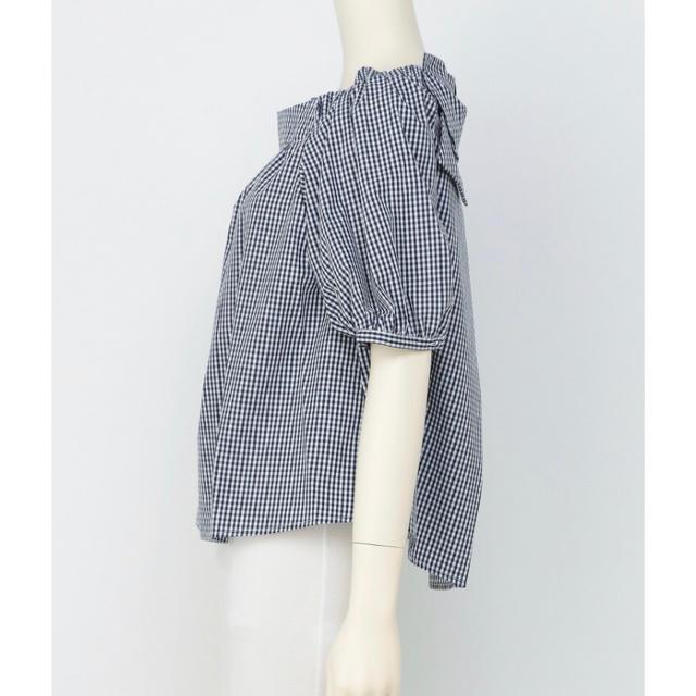 franche lippee(フランシュリッペ)の新品同様!フランシュリッペのブラウス(白) レディースのトップス(シャツ/ブラウス(半袖/袖なし))の商品写真