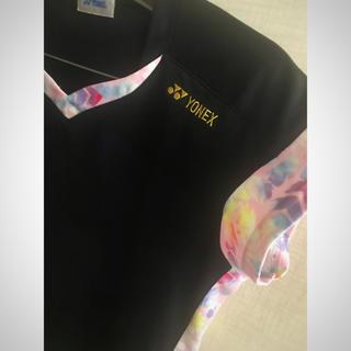 YONEX - 【極美品】YONEX ヨネックス レディース 半袖VネックTシャツ L