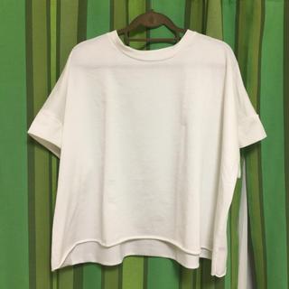 merlot - melrot  オーバーサイズTシャツ