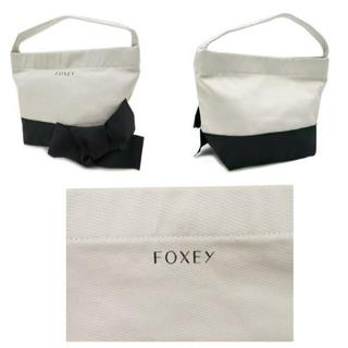 フォクシー(FOXEY)のFOXEY 人気ノベルティ グログランリボン ハンドバッグ (ハンドバッグ)