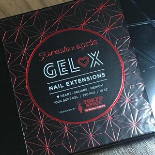 【日本未発売】ハートくりぬきネイルチップ♡GEL-X