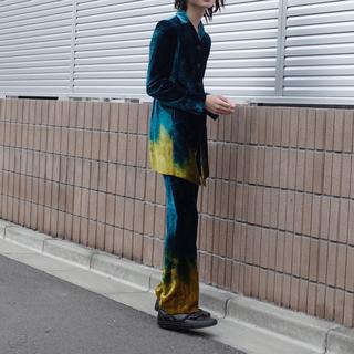 ロメオジリ(ROMEO GIGLI)のVintage Velvet pantsuit by GIGLI(スーツ)