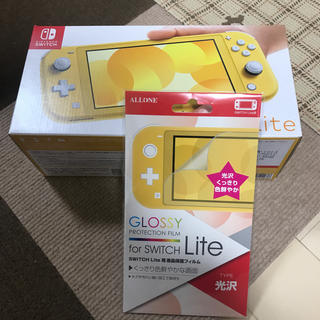 Nintendo Switch - Nintendo Switch Lite イエロー スイッチライト フィルム付き