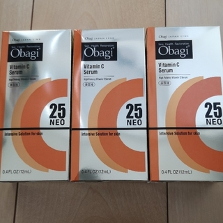 オバジ(Obagi)のオバジC25美容液 3個セット+酵素洗顔8個のおまけ付き(美容液)