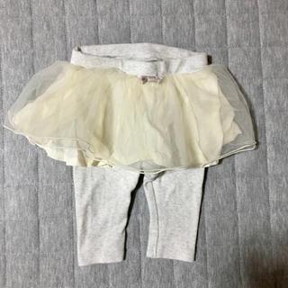 プティマイン(petit main)のpetit main スカート付きレギンス 70 (スカート)