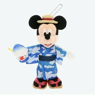 Disney - 新商品 東京ディズニーリゾート限定品 ぬいぐるみバッジ 夏 浴衣 ぬいば
