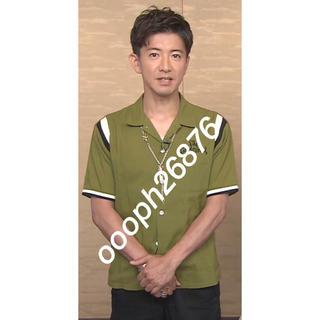 TENDERLOIN - 私物 キムタク着 テンダーロイン ボーリングシャツ オリーブ S