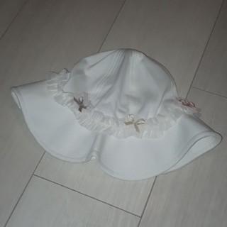 トッカ(TOCCA)の(新品)TOCCA おリボンお帽子 46㎝(帽子)
