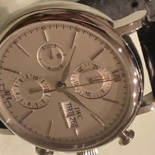 インターナショナルウォッチカンパニー(IWC)の断捨離 44800円均一 7750改フル稼働クロノIWC(腕時計(アナログ))