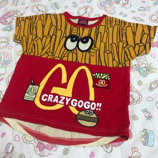 JAM - クレイジーゴーゴー ポテト Tシャツ 110