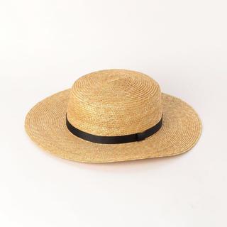 ビューティアンドユースユナイテッドアローズ(BEAUTY&YOUTH UNITED ARROWS)のB&Y 紐付きカンカン帽(帽子)