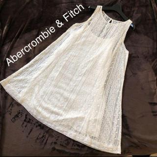 Abercrombie&Fitch - 新品タグ付き レースワンピース アバクロ